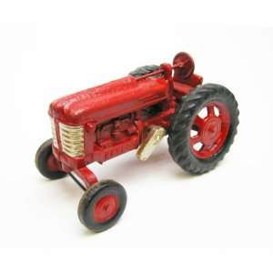 Big Red Replica Cast Iron Farm Toy Tractor: Home & Kitchen