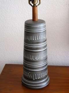 MID CENTURY MODERN MARTZ LAMP LAMP 1950s EAMES ERA