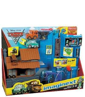 Fisher Price Imaginext Disney Pixar Cars 2 Tokyo & Villain Playset