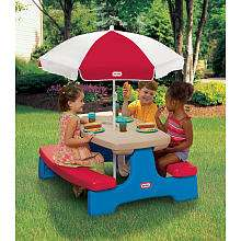 Little Tikes Endless Adventures Easy Store Table with Red and White