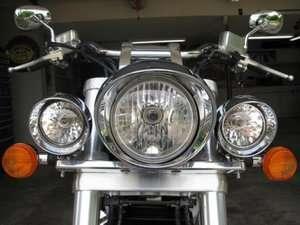 LM1 Ligh bar headligh moun Kawasaki Vulcan 500 750 800 900 |