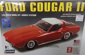 LINDBERG 1/25 SCALE FORD COUGAR II PLASTIC MODEL CAR KIT SKILL 2 BNIB