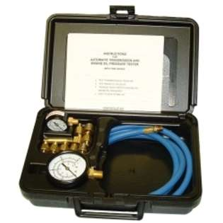 Automatic Transmission And Engine Oil Pressure Tester from