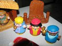 Fisher Price Little People Animals Nativity & Christmas w/Santa Mrs