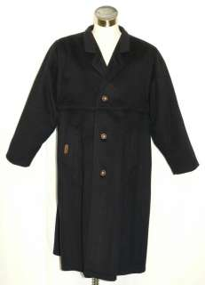 BLUE * LODEN WOOL Men AUSTRIA Winter LONG Dress Suit Trench Over Coat
