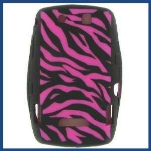 New Premium Blackberry 9500/ 9530 Storm Hot Pink Zebra
