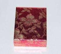 Vintage Rembrandt Rose Gold Plate Brooch in Box