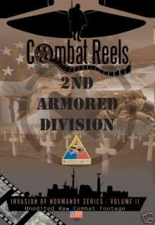 2nd Armored Division Combat DVD Normandy Series WWII