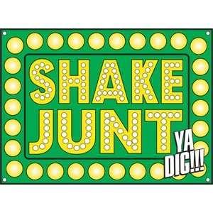 Shake Junt Ya Digg Banner   Size: 22X30 Sports