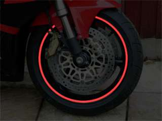 Motorcycle or Car Wheel Rim Tape or Stripes fit 20 to 23 inch Rims