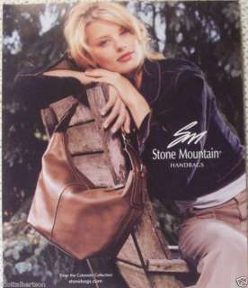 STONE MOUNTAIN HANDBAGS COLORADO COLLECTION 2005 AD