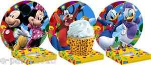DISNEY MICKEY MOUSE Clubhouse CUPCAKE HOLDERS ~ Birthday Party