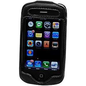 Apple iPhone 3G Elite Leather Case with Spring & Swivel Clip