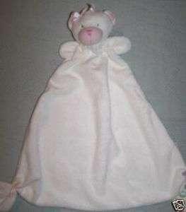 Little Me Girl Teddy Bear Buddy Security Blanket lovey