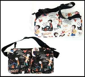 Fashion Women Betty Boop Waist Bag Handbag Purse MP 06