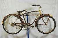 Vintage 1951 Schwinn built BF Goodrich balloon tire bicycle bike