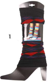 WOMENS BLACK,BLUE RED,PURPLE,GREEN LEG WARMERS SOCKS,lw16,brand new
