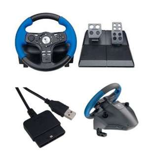 Logitech Driving Force EX   Wheel And Pedals Set For PS2