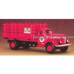 IMEX HO Scale International KB 8 Stakebed Truck   Texaco