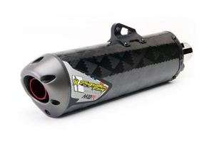 10 11 Yamaha YZ250F Two Brothers M2R Full Exhaust CARBON FIBER