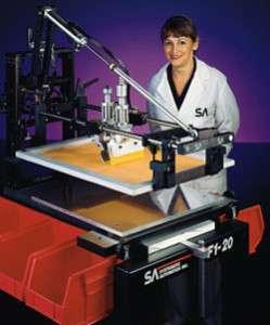 Screen Printing Machine replaces Pad Printer