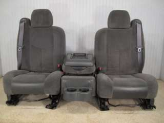 CHEVY SILVERADO SIERRA AVALANCHE SUBURBAN TAHOE FRONT SEATS JUMP SEAT