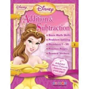 Disney Princess Book   Addition & Substraction Workbook with Reward