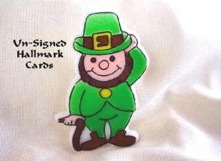 ST. PATRICKS DAY LEPRECHAUN Pin Brooch Hallmark Cards