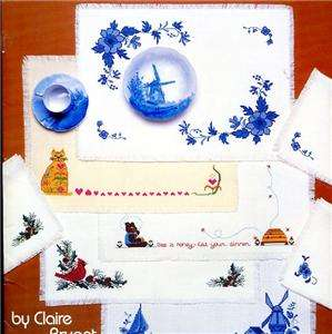 32 designs for Placemats & Napkins   Out of Print Cross Stitch Book