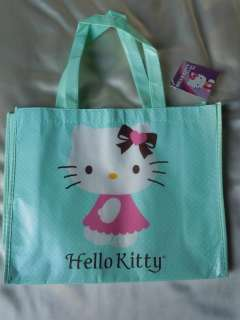 HELLO KITTY Mini Reusable Plastic Tote Gift Snack Bags NWT