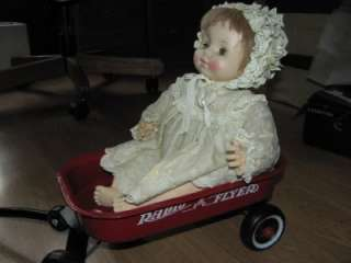 ORIGINAL LITTLE RED WAGON MINIATURE AMERICAN GIRL 18 DOLL SIZE