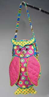 Spring Meadow Owl Purse 10 by Douglas Cuddle Toys 767548122587