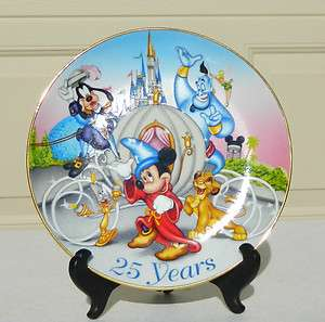 Mickey Mouse Walt Disney World Its Time To remember The Magic Plate