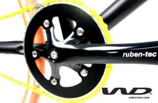 Ruben tec fixed gear bike/single speed bike/track bike (Black)