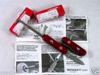 LOT of TWO (2) Wenger Multi Tool Rollerblade Knife
