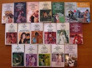 Lot of 18 GRACE LIVINGSTON HILL Romance Paperbacks Kerry,Maris