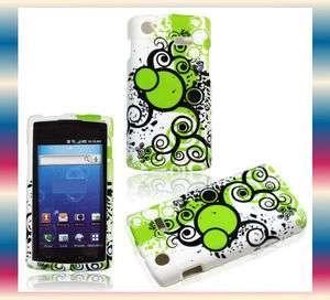 YM.Green Bn Samsung Captivate Galaxy S SGH i897 Phone Cover Hard Shell
