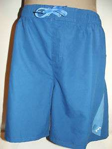 NWT NIKE Mens SWIM TRUNK BOARD WATER SHORTS 100% Polyester Blue