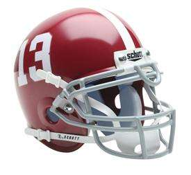 ALABAMA CRIMSON TIDE AUTHENTIC SCHUTT MINI HELMET ~ NEW