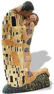 Gustav Klimt THE KISS Licensed Museum Sculpture Statue