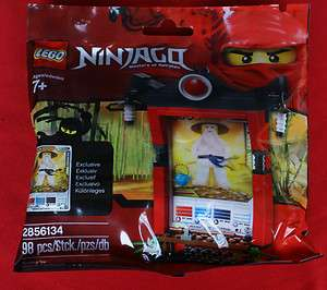 LEGO   NINJAGO   LIMITED   2856134   Card   Shrine polybag impulse