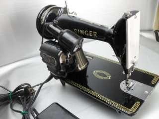 Vintage 1955 Singer 99K Sewing Machine Heavy Duty Industrial Strength