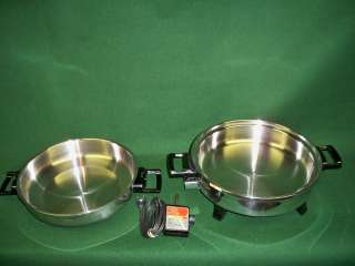 Kitchen Nutrition Oil Core Waterless Electric Skillet MADE IN USA BY