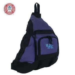 Mercury Luggage Kentucky Wildcats Blue Sling Bag
