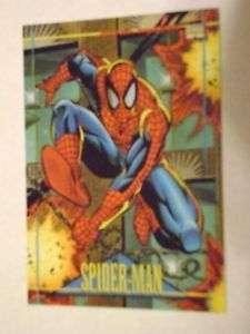 MINT MARVEL UNIVERSE 1993 SERIES 4 CARD #59 SPIDER MAN
