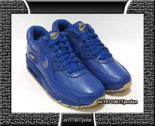 Wmns Air Max 90 Stormblue Gold Blue US 6~12 Leather 95 97 1