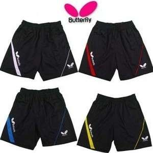 Butterfly Mans Badminton /table tennis shorts Blue ,red ,yellow,white