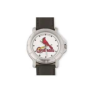 St Louis Cardinals MLB Leather Watch