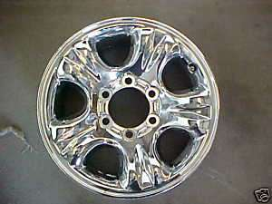 2001 4Runner Factory Chrome Alloy Wheel