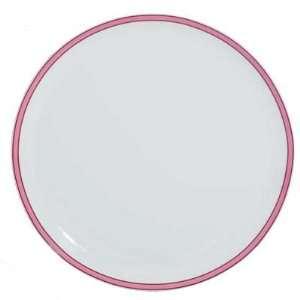 Raynaud Tropic Pink Round Flat Cake Plate